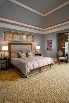 Carpet Covers A Large Area Of Any Room So Its Color Will Have A Big Impact