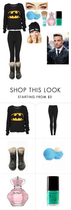 """""""Backstage with Liam"""" by prettylittletarah ❤ liked on Polyvore featuring Topshop, Eos, Maybelline and Forever 21"""