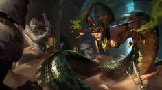 Cassiopeia New Splash Art Classic League of Legends Wallpaper 1920×1080