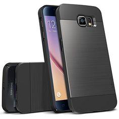 Galaxy S6 Case Obliq [Slim Meta] Ultra Slim Fit [All Around Protection] Samsung Galaxy S6 Cases [Titanium Black]