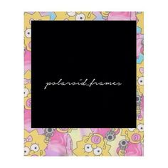 Polaroid Frame Png, Polaroid Template, Frame Template, Templates, Cute Frames, Picture Frames, Instagram Highlight Icons, Mini Tattoos, Editing Pictures