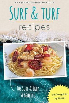 Want to make the one you love an extra special meal? Then these surf and turf recipes are for you! These recipes are easy to follow and recreate, which means your family can be enjoying the tastes of the fanciest meal in the comfort of your own home. We e