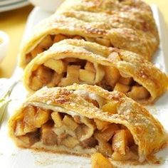 Caramel Apple Strudel Recipe from Taste of Home