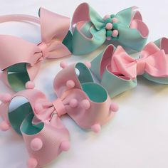Making Hair Bows, Diy Hair Bows, Diy Bow, Diy Baby Headbands, Baby Bows, Hair Ribbons, Ribbon Bows, Little Girl Hairstyles, Diy Hairstyles