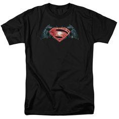 Batman v Superman Industrial Logo