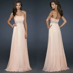 Cheap dresses and evening gowns, Buy Quality dresses gown directly from China dresses dress Suppliers:Long Evening Dresses Cheap Sale ! 2014 New Arrived Deep V-neck Halter Crystal Evening Dress A-Line Chiffon Formal DressU Evening Dress 2015, Long Evening Gowns, Formal Evening Dresses, Formal Gowns, Dress Formal, Discount Formal Dresses, Junior Formal Dresses, Cheap Long Dresses, Beautiful Dresses For Women