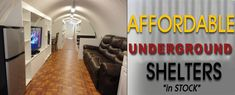 Texas Survival Shelters-Underground Shelters-Bomb Shelters