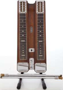 Circa Early 1950's Fender Double 8 Professional Walnut Lap Steel Guitar,