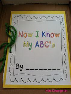 Miss Kindergarten: A-Z Crafts!