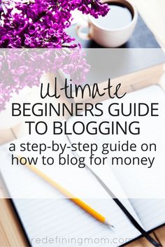 The Ultimate Beginners Guide to Blogging: How to Get Started explains how to start a blog for beginners by explaining the 4 stages of blogging and how to build your audience so that you can make money from your blog. This is a comprehensive step-by-step g