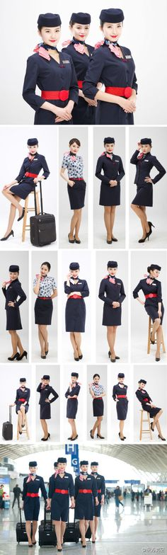 Chinan Eastern Airlines cabin crew