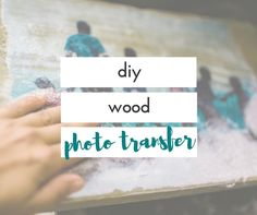 I was so excited to figure out how to transfer a photo onto wood. It was such an easy diy photo project once I figured out how to do it.
