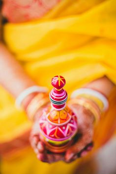 A Bengali bride is supposed to carry this along with a fish shaped hair clip all day long for the wedding Bengali Wedding, Bengali Bride, Wedding Bride, Dream Wedding, Wedding Ideas, Big Fat Indian Wedding, Indian Bridal, Indian Weddings, Dulhan Pic