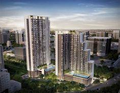 Quinn Condo@ Ratchada 17 คอนโด High Rise 2 อาคาร  ตึก A 25 ชั้น 366 Units ตึก B 32 ชั้น 363 Units รวม  729 Units เดินทางสะดวกด้วยรถไฟฟ้าใต้ดิน MRT สถานีสุทธิสาร  ราคาเริ่มต้นประมาณ 2.9 ล้านบาท โครงการดีๆโดย  MBK Real Estate