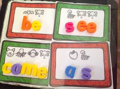 Secret Sight Words from Teachable Moments blog