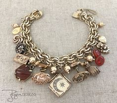 Customer Says:  Arrived extremely fast! This bracelet is gorgeous and full of unique pieces. It also fit surprisingly well on my tiny wrists