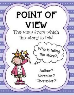 Point of View Posters & Activity FREE!!