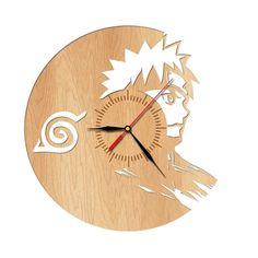 Naruto Wooden Wall Clock (2 Models) //Price: $49.95 & FREE Shipping // #dragonballz #onepiece #attackontitan #naruto #fairytail #fullmetalalchemist #tokyoghoul #anime #manga