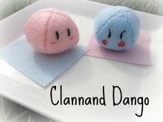Clannad Dango Plushie by VintageCoolProCute on Etsy, $5.00
