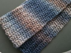 I've been playing with Tunisian crochet stitches for a while now but never made anything with them. I found that this is a really fascinati...
