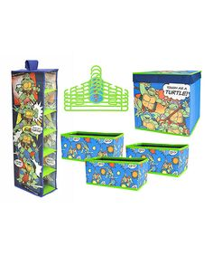 Look at this TMNT Closet Organization Set on #zulily today!