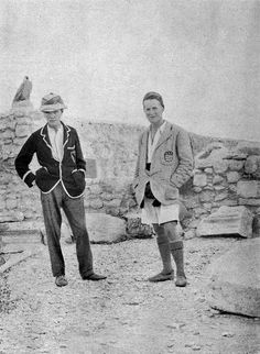 Woolley & Lawrence at Carchemish. This Day in History: Oct 1, 1918: Lawrence of Arabia captures Damascus