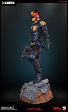 Pop Culture Shock : Judge Dredd Statue dévoilée