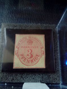 RARE ORIGINAL Hannover 1853 3 Pfennig GERMANY EMPIRE STAMP TIMBRE Mi6 MP-500EURO   Stamps, Europe, Germany & Colonies   eBay!