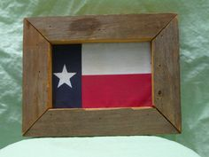 Bandera de Texas enmarcado by TexasChime | Etsy