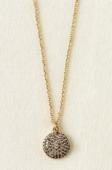 stella and dot necklace.  I'd wear this with a white button-down and jeans.