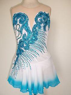 COMPETITION DRESS TS397 [TS397] - $169.95 :: Tina's Skate Wear - Custom Make-to-Fit Skating Dresss, Figure Skating Dresses, Baton Twirling/Dance Costumes.