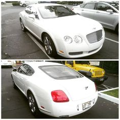 Even high end vehicles like this Bentley can benefit from an engine flush! #Bentley