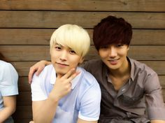 Yesung & Sungmin selca (from Yesung twitter) adorable :3