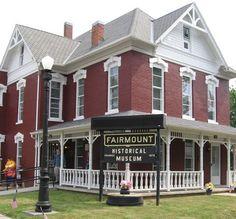 Fairmount, Fairmount Indiana, Fairmount Historical Museum