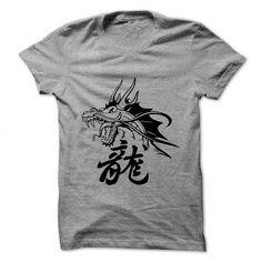I Love Oriental dragon tattoo art Shirts & Tees