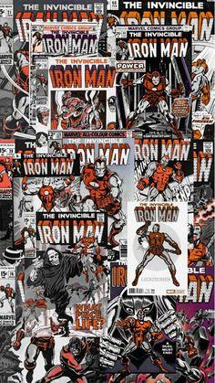Marvel Comics Superheroes, Marvel Films, Marvel Art, Marvel Memes, Marvel Avengers, Invincible Comic, Iron Man Wallpaper, Photocollage, Avengers Wallpaper