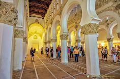 toledo synagogue 13th century - Google Search