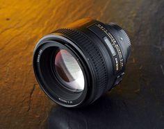 Best lens for portraits: Nikon AF-S 85mm f/1.8G