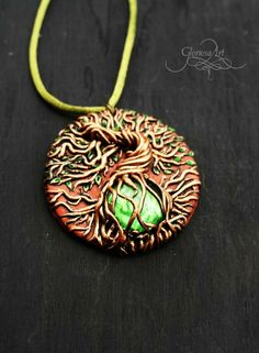 Life tree medal, pendant