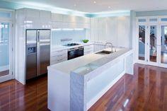 44 Inspiring Design Ideas for Modern Kitchen Cabinets - Decor 2019 Boffi, Modern Kitchen Cabinets, Kitchen Layout, Home Decor Quotes, Kitchen Models, Room Interior Design, Interior Plants, Cuisines Design, Küchen Design