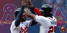 Atlanta Braves Markakis and Maybin 2015