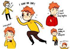 chekov is so cute #startrek