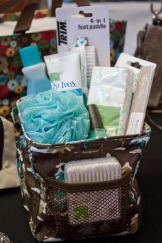 Mani/pedi time!  Our Littles Carry All keeps all your stuff in one great place!