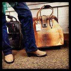 Rocking some Bernie Mev shoes with the Hang Accessories Trolley Bag @avenuekaccessories Grand Opening #BM #HANG