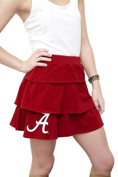 Clothing Designers In Alabama Alabama Layered Skirt