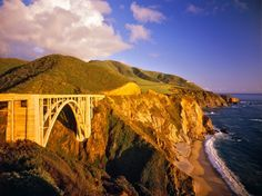 """PACIFIC COAST HIGHWAY (ROUTE 101) California to Washington  What you'll see: The Pacific Ocean—as much of it as you can take. The Pacific Coast Highway (or """"PCH"""" for the initiated) runs along the West Coast from California all the way through Washington, with breathtaking views of cliffs dropping into the ocean below. Although all segments of the highway have their charms, most agree that the area around Big Sur offers the most jaw-dropping scenery"""
