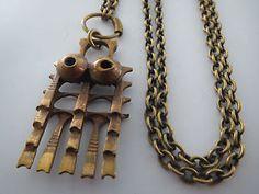 PENTTI SARPANEVA Bronze Halskette Necklace Bronce 60er 70er FINLAND Design | eBay
