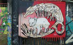 São Paulo walks: Vila Madalena street art - Beco do Batman