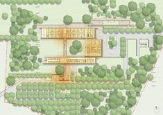 Image 14 of 26 from gallery of Renzo Piano Designs Emergency Hospital in Uganda with Rammed Earth Walls. Renzo Piano, Emergency Hospital, Rammed Earth Wall, Surgery Center, Uganda, Pathways, Interior And Exterior, Vintage World Maps, Photo Wall