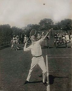"""TENNIS: Bill Johnston was the co-World No. 1 player in 1919 and in 1922 respectively along with Gerald Patterson and Bill Tilden. He won the US Championships in 1915 and 1919, as well as the World Hard Court Championships (Clay) and Wimbledon in 1923.  Until """"Big Bill"""" Tilden began to defeat him regularly in 1920, Johnston had been the best American player for a number of years and was ranked No.1 by the United States Lawn Tennis Association in 1915 and 1919. [wiki]"""
